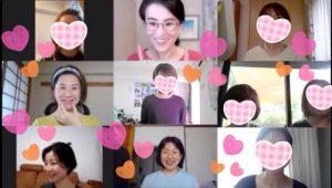 母の日、ママの日、笑顔の日♡オンラインイベントレッスン♪開催しました!仙台みちヨガ
